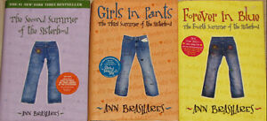 2nd , 3rd & 4th Traveling Sisterhood Pants HARD Cover Books