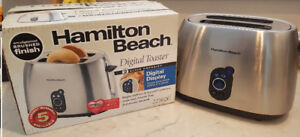 Stainless steel toaster - Hamilton beach 22502C