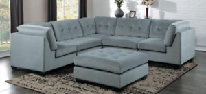 BEAUTIFUL MODERN SECTIONALS FOR SALE! GREY OR BROWN!