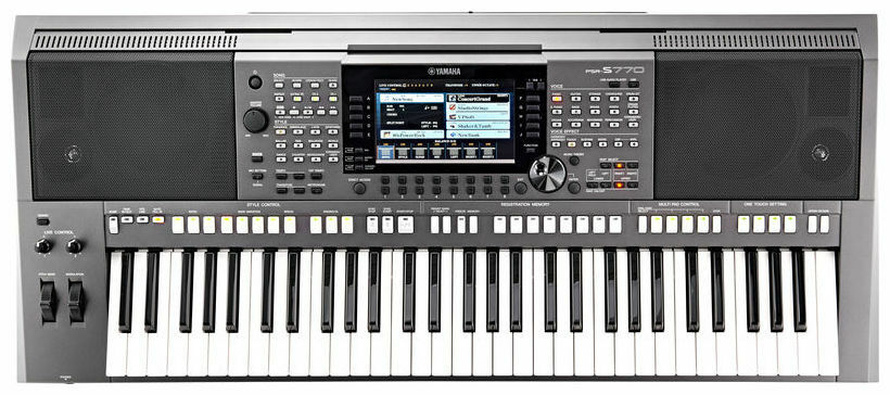yamaha psr s770 brand new professional in leicester. Black Bedroom Furniture Sets. Home Design Ideas