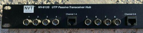 Network Video Technologies NVT NV-813S UTP Passive Transceiver Hub