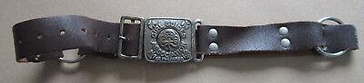 Vintage Girl Guides Association Be Prepared Bukta Belt