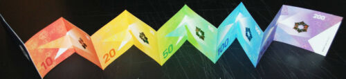 Longest Test Note ever Sicpa Switzerland, 5 notes in one, SPARK Blossom