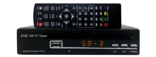 Over-The-Air DTV Tuner DVR With YPbPr HDMI RCA A/V Outputs + Digital Audio Out