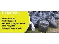 All rubbish removal services waste same day clearance man and van wood chairs