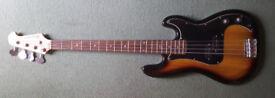 Bass Guitar and Pratice Amp