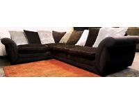 DFS Corner Sofa - Brown. Can deliver