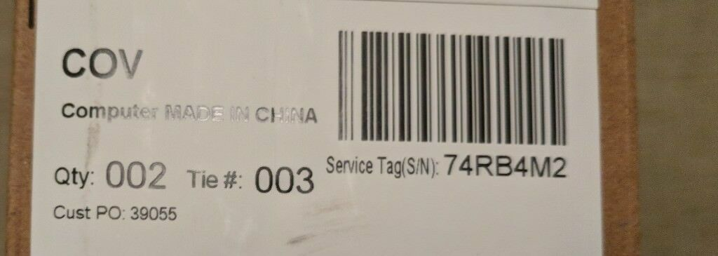 Dell XPS 13 9365 (Brand New)