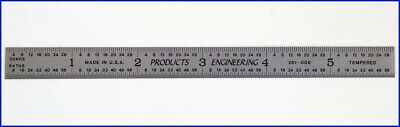 Products Engineering Dual-scale 6 Inch150 Mm Steel Ruler - Model 261-006