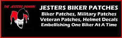 Jesters Biker Patches