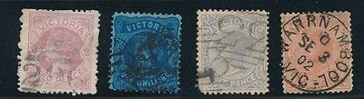 Victoria (4) QUEEN VICTORIA EARLY ISSUES (1878-1902); USED; AS SHOWN