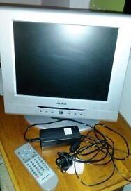 "15"" ALBA Flat Screen TV"