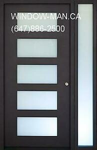 Door Contemporary Front Modern Entry  Energy saving