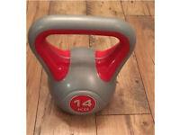 """14kg Vinyl Kettlebell - """"As New"""" - Premium Fitness Equipment"""