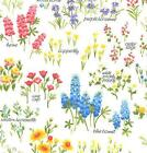Bluebonnet Fabric