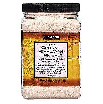 Kirkland Signature Ground Himalayan Pink Salt, 5 lbs