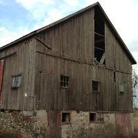 Wanted Farm Fresh Barn Wood