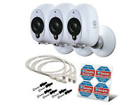 Swann Smart HD Wireless Security Camera Three Pack * BRAND NEW & SEALED *