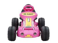 Brand new sealed Ride on electric Go Kart Pink