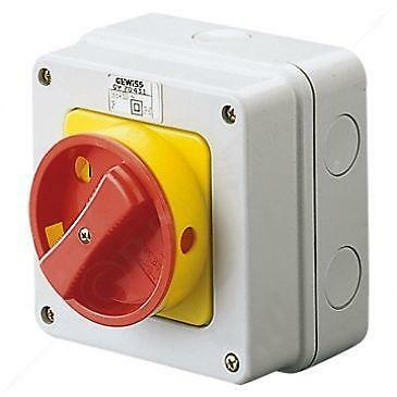 electrical isolator switch ebay. Black Bedroom Furniture Sets. Home Design Ideas