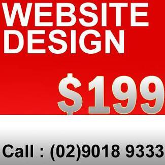 Website design sydney - package starts from $199
