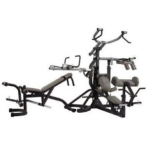 Body-Solid SBL460P4 Free-Weight Leverage Gym Squat bench