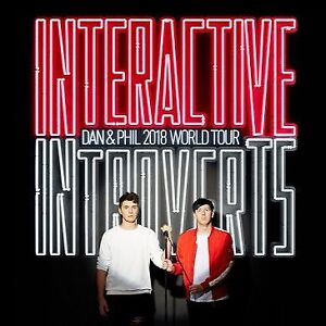 DAN AND PHIL INTERACTIVE INTROVERTS VANCOUVER SHOW $60