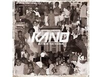 Kano tickets for sale x2 for Newcastle 15/10/16