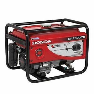 Brand New Honda Generator EP2500CX1 3yr Warranty NEW