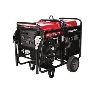 Honda EB10000C 10,000w Generator Commercial 3yr Warranty Kitchener / Waterloo Kitchener Area image 1