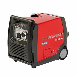 Honda EU3000 ick Inverter Generator with 2 year warranty