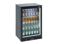 LEC BC6097KLED ECA Single Door LED Bottle Cooler Fridge 150L Black