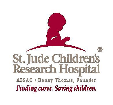 St. Jude Children's Research Hospital charity logo