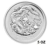 5 oz Silver Dragon