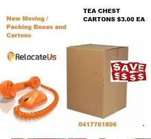 Cheap Priced  NEW Moving BOXES  delivered gumtree special Brisbane Region Preview