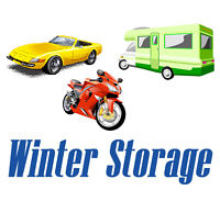 WINTER STORAGE FOR 2 CARS