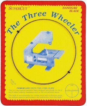 """SuperCut B56.875W14R14 Three Wheeler Bandsaw Blades 56-7/8"""" Long 1/4"""" Width 14 R"""
