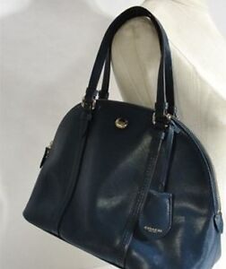 Coach Peyton Leather Cora Domed Satchel- Good to Great Condition