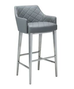 Leather Bar/Counter Stool