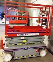 Scissor Lifts - Various Makes, Models & Years for Sale
