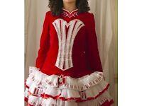 Stunning irish dance dress