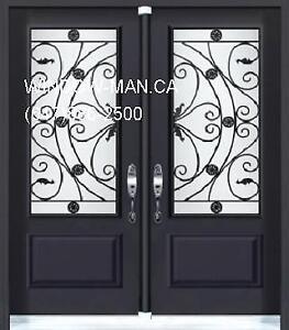 Entry Door Front Double  Fair Price