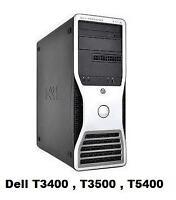Dell T3500 , Dell T5500 , HP Z800 , HP Z420 , HP ML370 , HP XW6600 , IBM X3200 M3