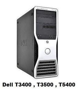 Dell T5500 , Dell 490 ,  HP Z800 , HP Z420 , HP ML370  , IBM X3200 M3