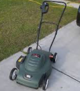 Black & Decker Lawnmower