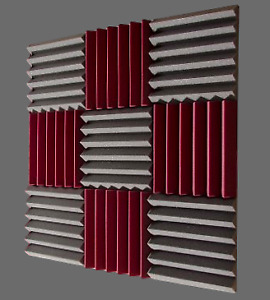 Soundproof Wedges Acoustic soundproofing foam.