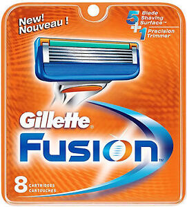 Gillette Fusion Replacement Razor Blades - New