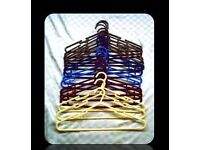 PLASTIC HANGERS - 16 - FOR SALE