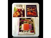RECIPE BOOKS - SMOOTHIES & JUICES / MICROWAVE COOKING - FOR SALE