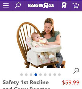 Safety 1st Recline and Grow Booster Seat - Sable London Ontario image 3